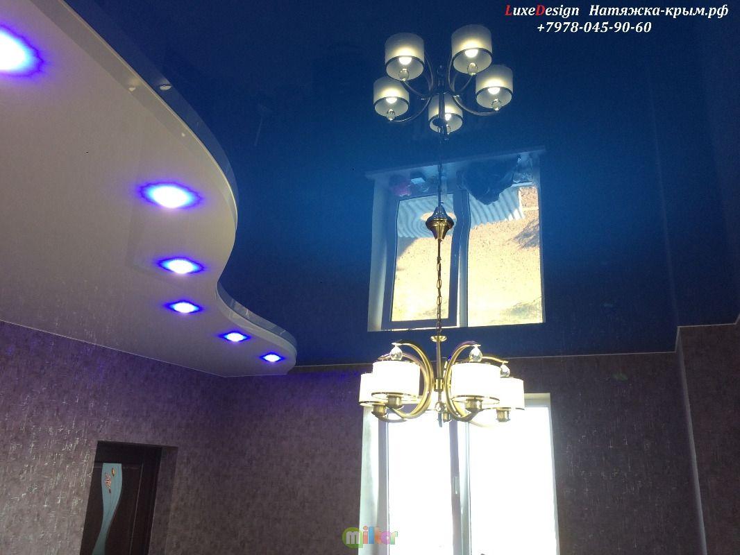 Многоуровневые натяжные потолки-особый стиль интерьера!