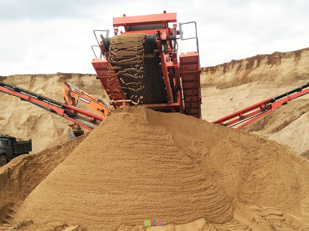 сферы применения песка