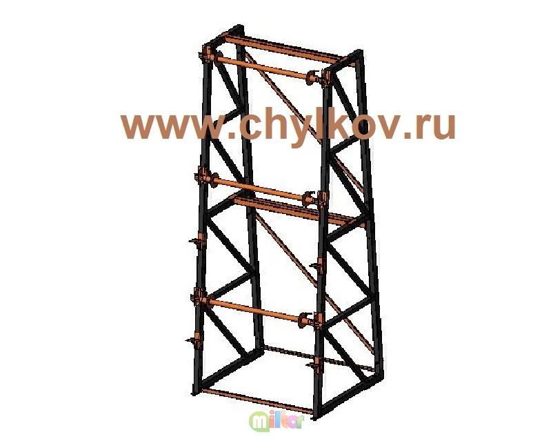 Стеллаж кабельный СКБ 3, 5-3