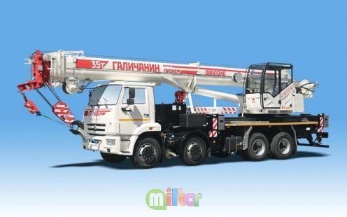 Автокран Галичанин КС-55721-1В Пионер Овалоид