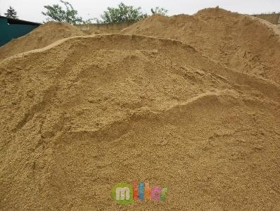 Песок строительный природный мытый