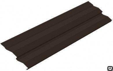 Сайдинг металлический, шоколад RAL 8017, м2