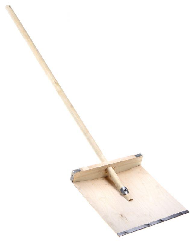 Лопаты снегоуборочные деревянные