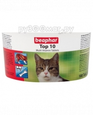 Beaphar Top 10 For Cats (180 ш...