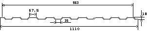 лист алюминиевый профилированный С8 и МП20 - 1400 руб.
