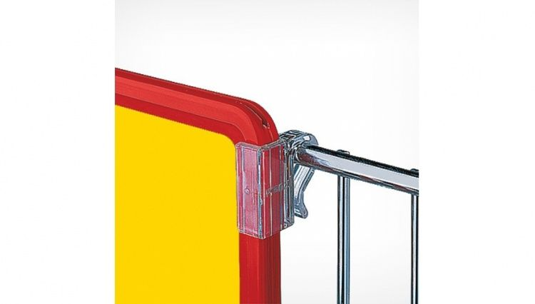 Держатель рамки с креплением на проволочную корзину (пара)